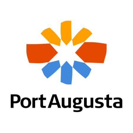 Port Augusta logo, described in detail below