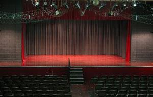 Lea Theatre stage
