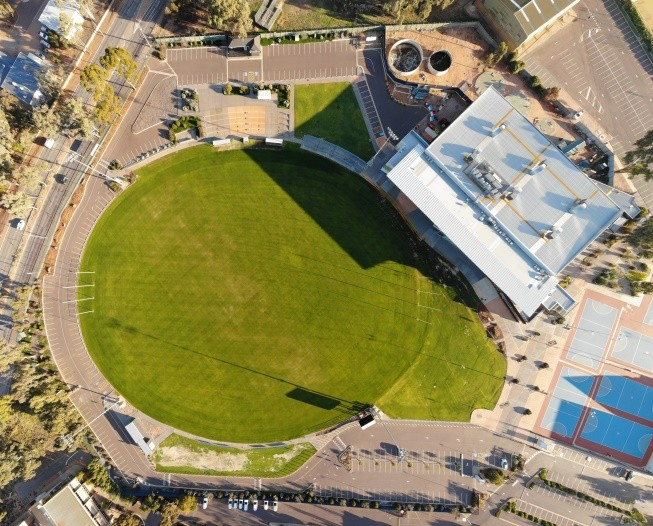 Central Oval Turf Upgrade Completed