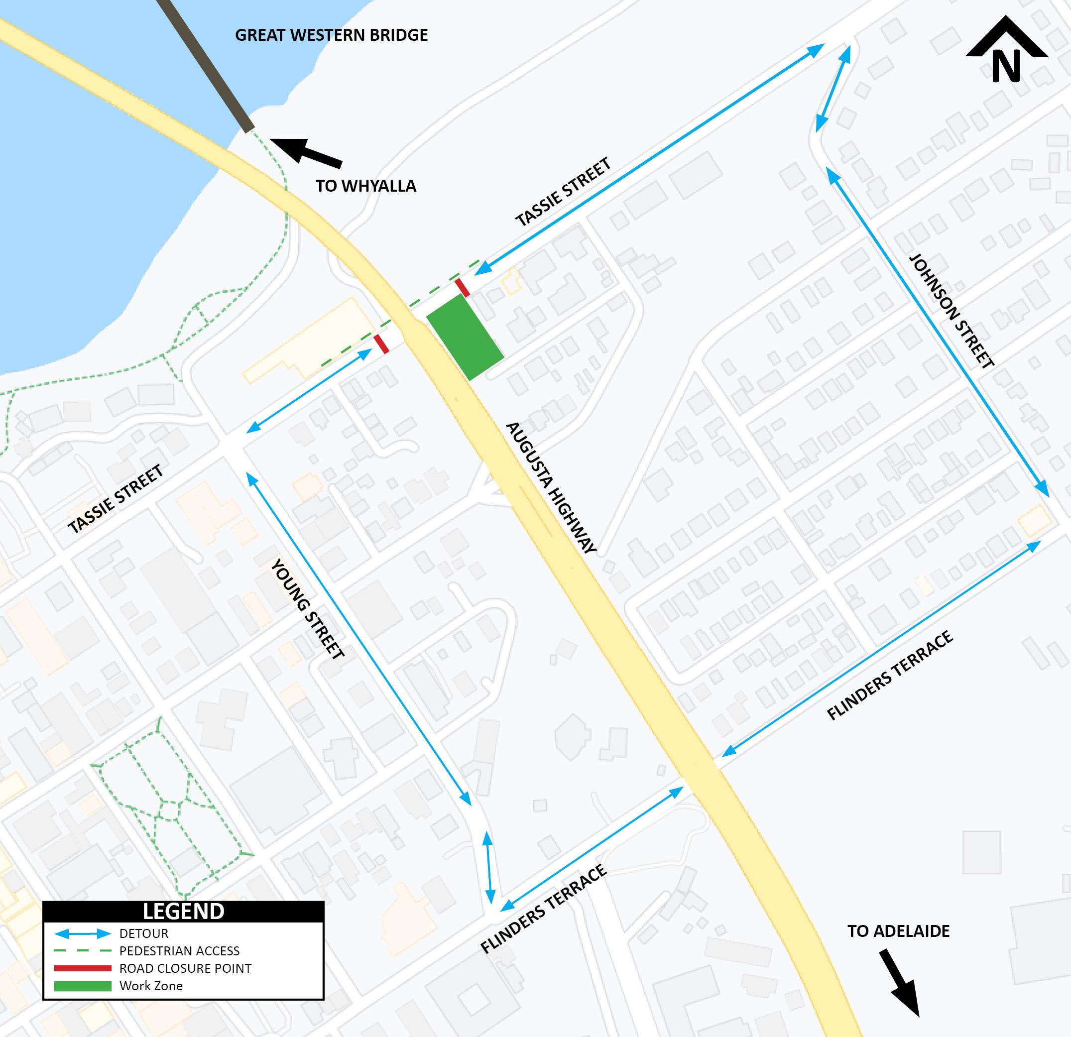 JBB Tassie Street Closure